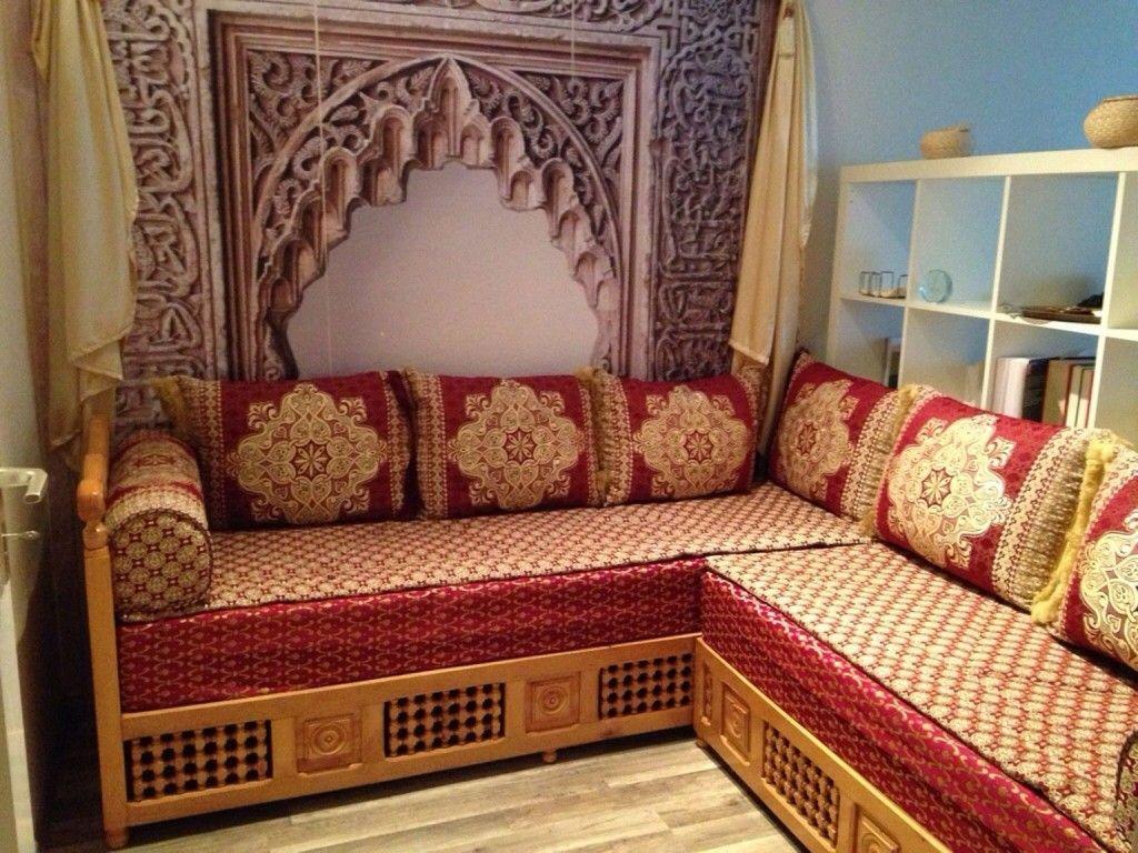 Orientalische Couch  Wohnzimmer orientalisch, Wohnzimmer design