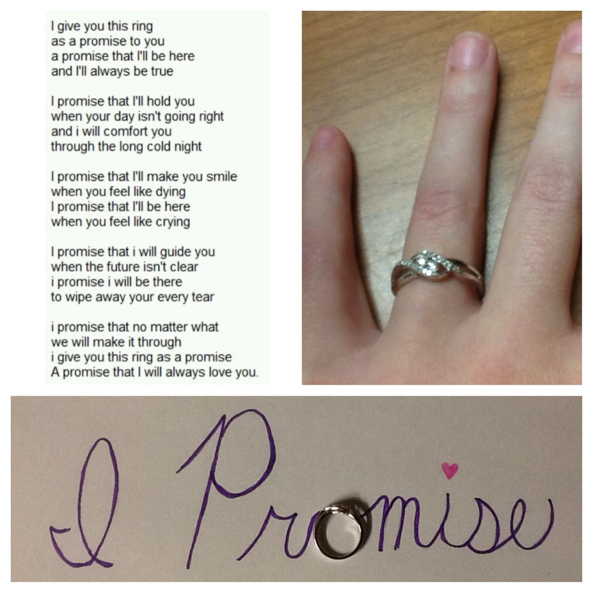 Pin By Cayce Small On One Day Pinterest Promise Rings Ring And