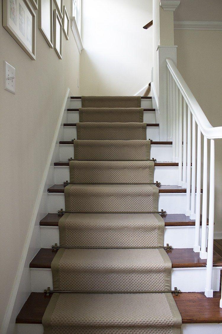 Best Stair Runner Diy With Sisal Rugs Direct Sisal Stair 640 x 480