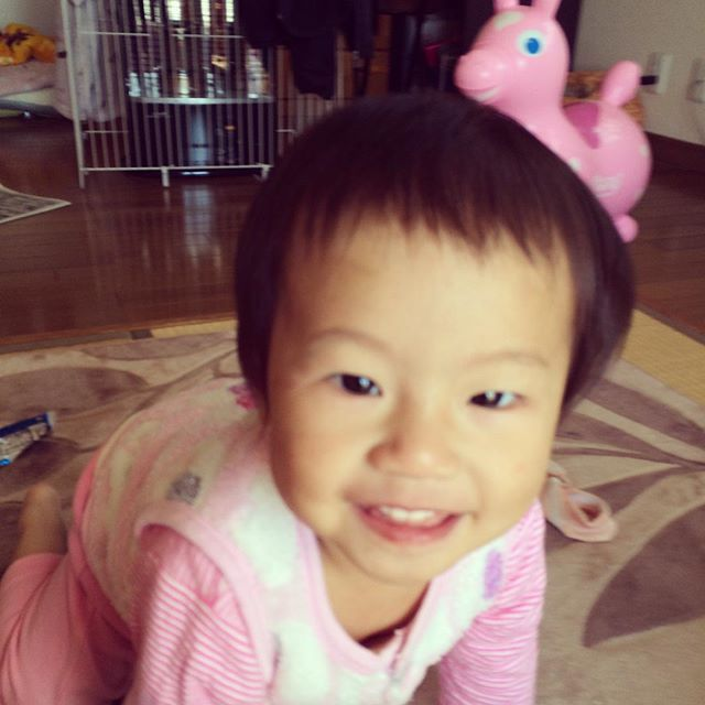 Instagram media gkgk175237 - セルフ散髪〜♪#1歳5ヶ月#散髪の後シャワーギャン泣き#ロディ
