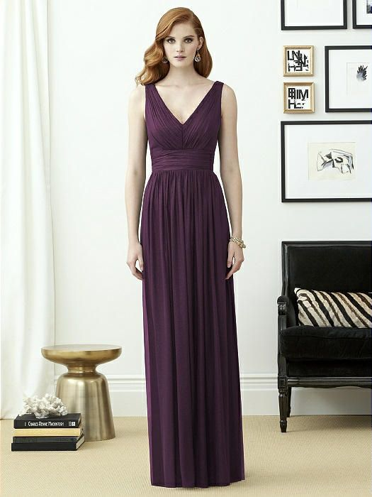 255c0abe924 Dessy Collection Style 2955 Sample  Aubergine