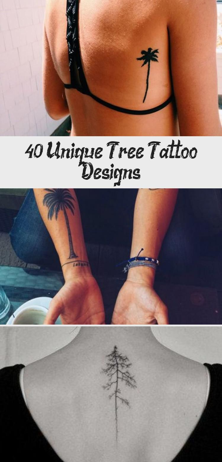 Photo of 40 dessins uniques de tatouage d'arbre – tatouages