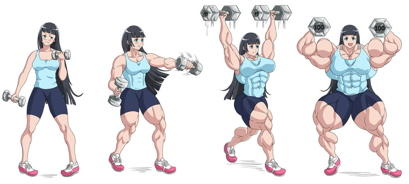 How Much Heavy Dumbbells Can You Lift Akemi By Fudgex02 On