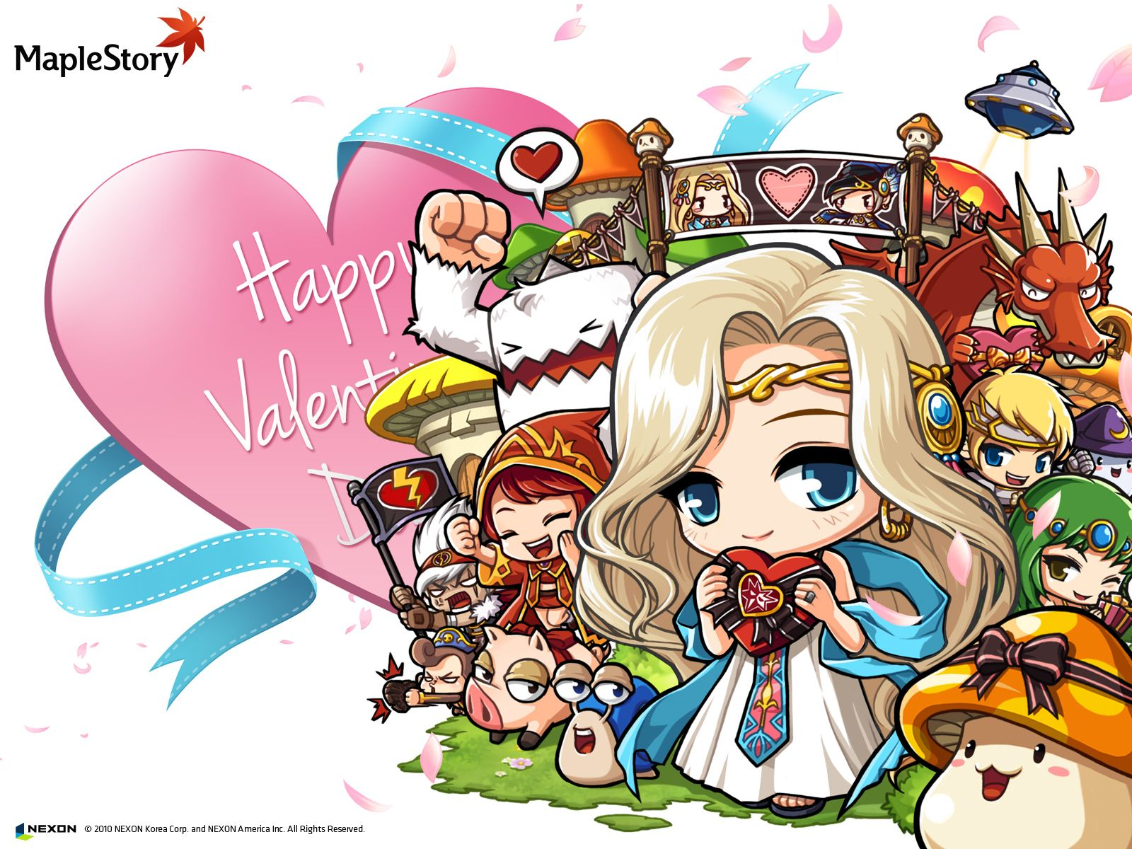 Maplestory Wallpapers Anime Chibi Kawaii Anime Artwork