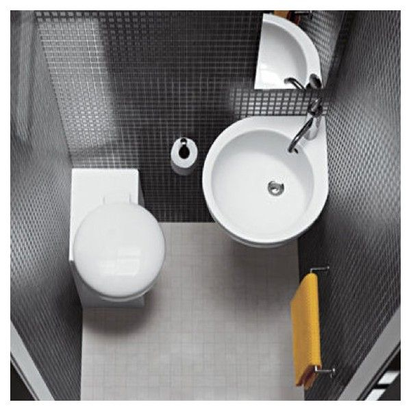 PointWC - Cuvette WC et Lave-mains - 1m2 - YOU&ME   WC BAS ...