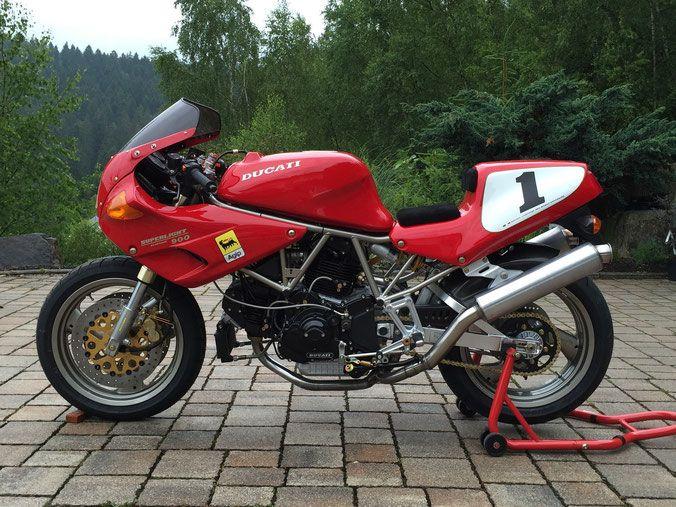 Ducati 900 Superlight Vullers Webseite Ducati Motos Cafe Racer