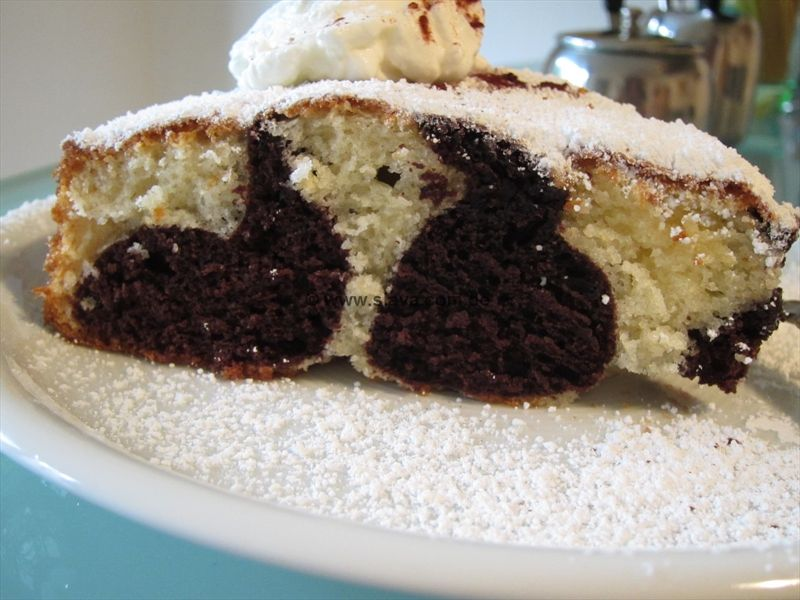 Super Schneller Saftige Marmorkuchen Mal Anders Backen Pinterest