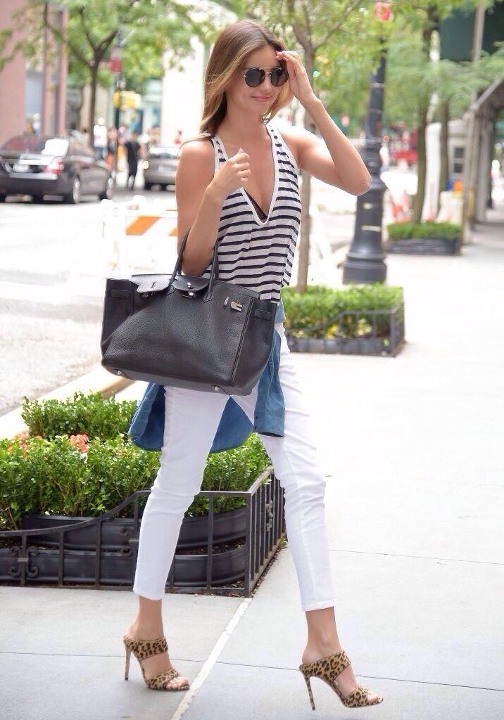 Stripes, white - Miranda Kerr - (Discover Sojasun Italian Facebook, Pinterest and Instagram Pages!)