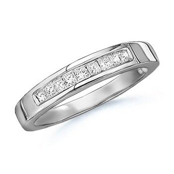 Angara Princess Cut Diamond Channel-Set Wedding Band in Platinum GVC5OhXvxN