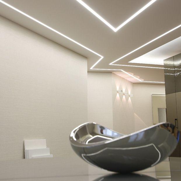 Mini Blade Recessed Plaster Lighting Channel Led Recessed Lighting Recessed Lighting Ceiling Light Design