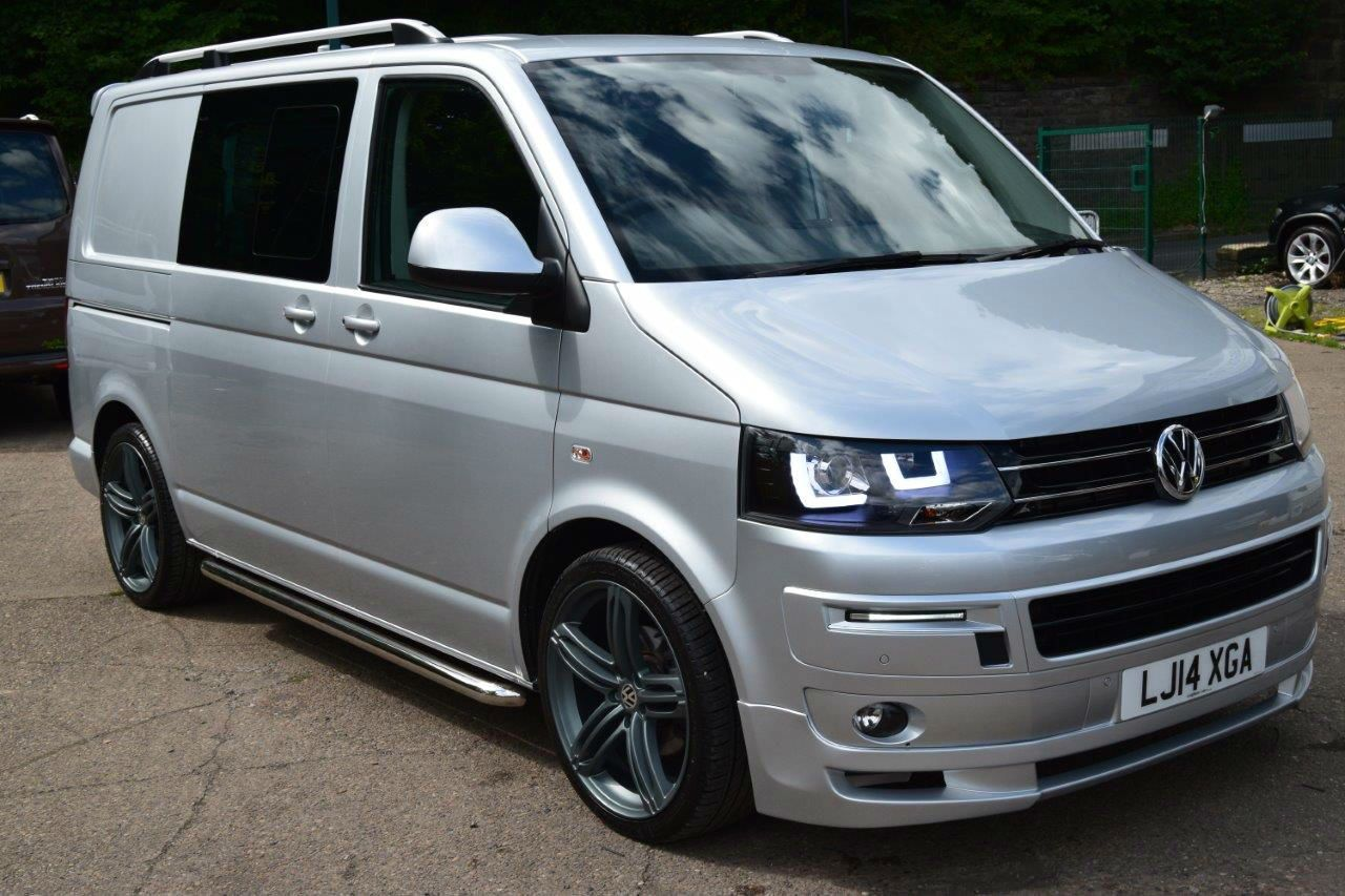 2014 14 vw transporter t5 bmt factory kombi sportline pack twin doors sat nav t5 vw and vw t5. Black Bedroom Furniture Sets. Home Design Ideas