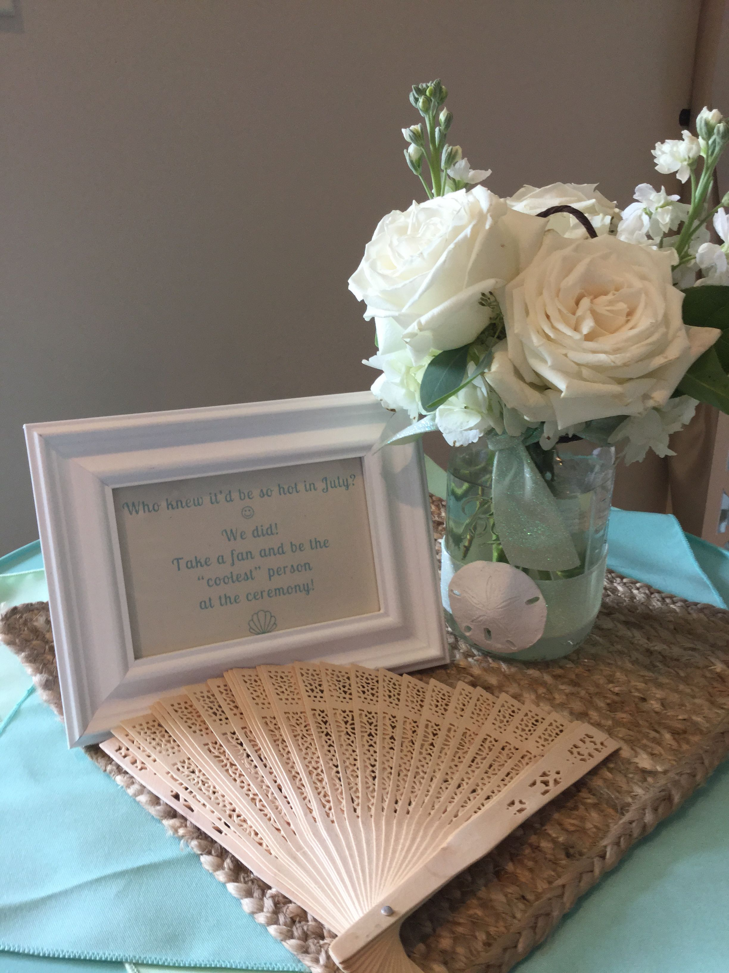 Beach wedding decoration & favors You can do so much