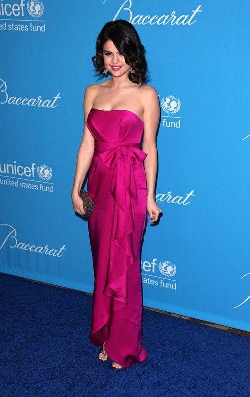 Image detail for -Selena Gomez Dresses Pink Bow Selena Gomez Dress ...