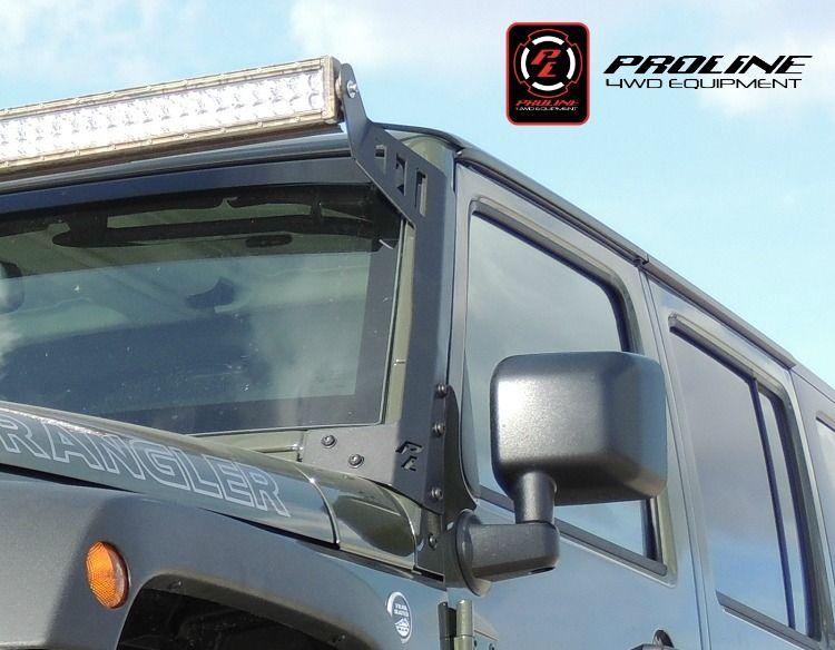 Proline 4wd 2007 2015 jeep wrangler jk windshield led light bar proline 4wd 2007 2015 jeep wrangler jk windshield led light bar mount mozeypictures Choice Image