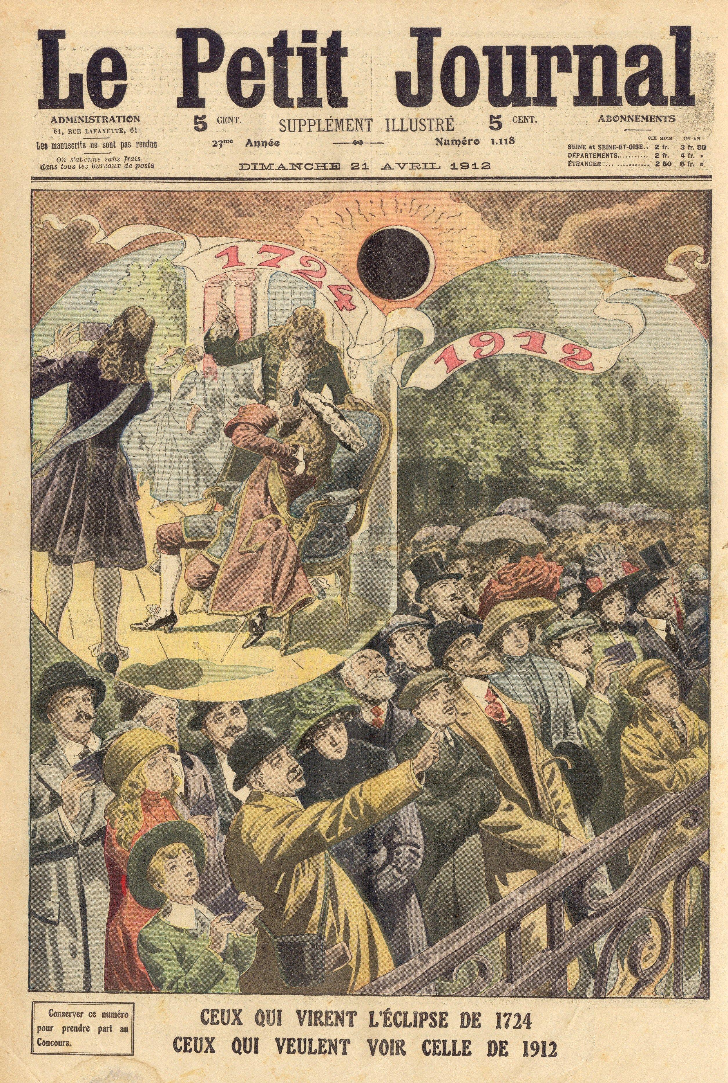 Periodicos Le Petit Journal Journal Petit