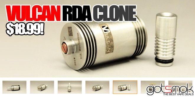 Vulcan RDA Clone $18.99 | GOTSMOK.COM