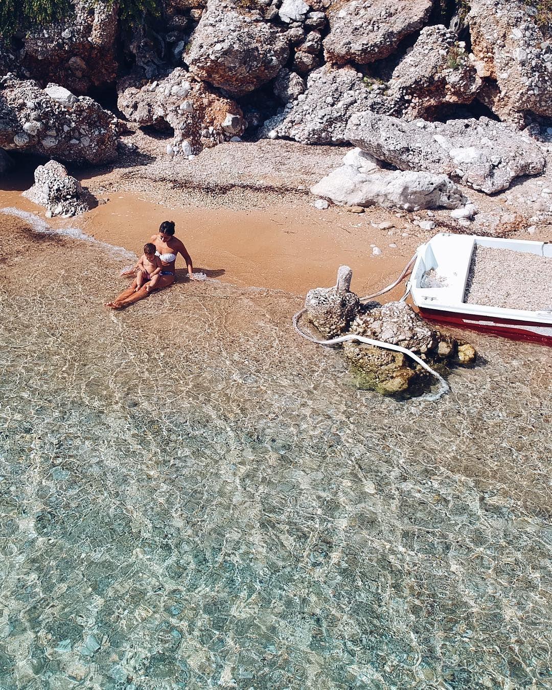 Deserted Island Beach: Alexa Love Ikonn, Corfu, Greece, Beach