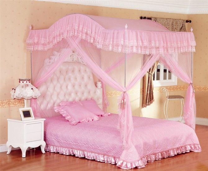 Muebles en madera - Cama de princesa para nina ...