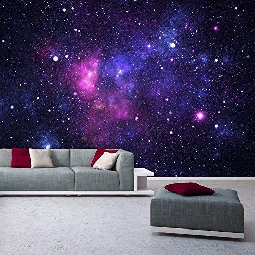 Galaxy Photo Wallpaper 366 X 254 Cm E Stars Universe Deco Deals Top Http Www Co Uk Dp B00w4p5k3g Ref Sw R Pi W