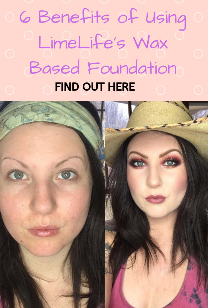 6 Benefits of Using LimeLife's Wax Based Foundation How