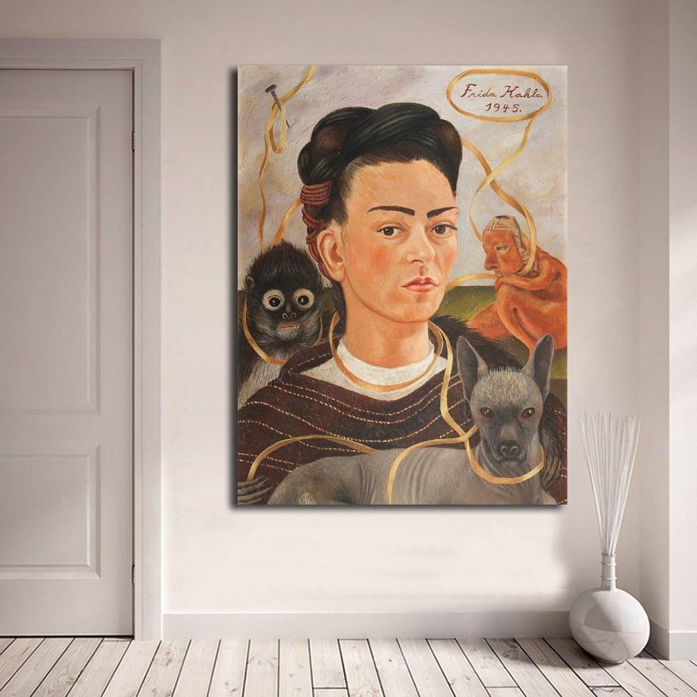 Object Lesson: Frida Kahlos Self-Portrait with Monkey