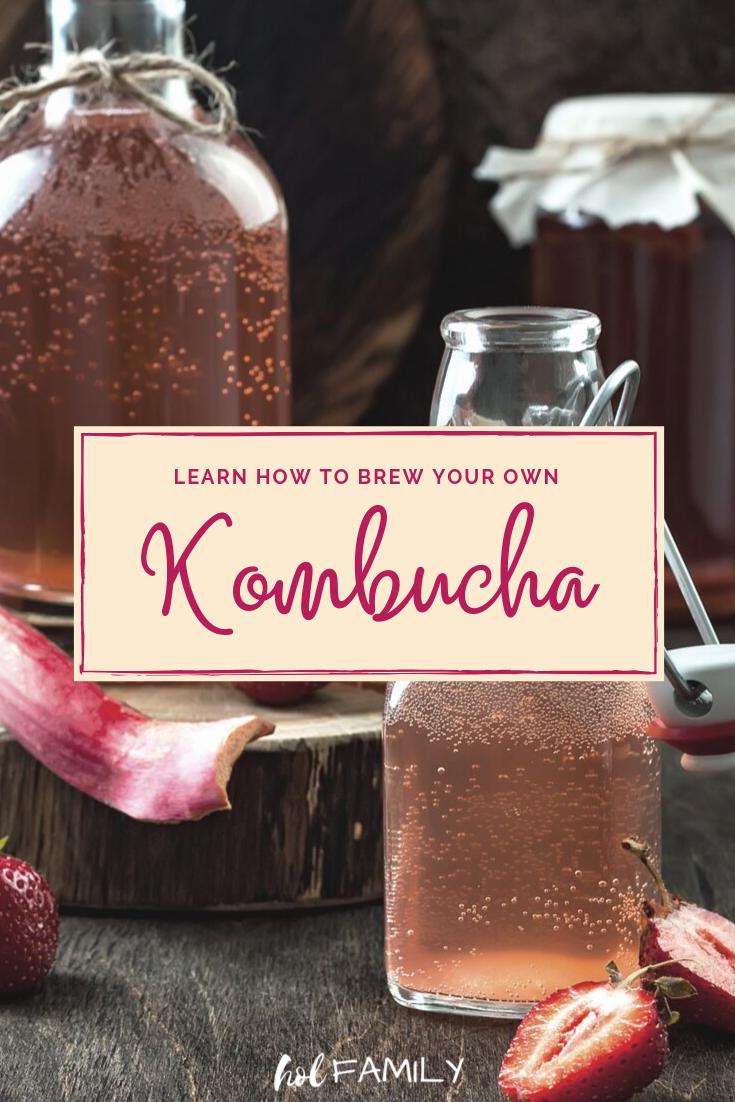 Easy Homemade Kombucha Recipe (With images) Kombucha