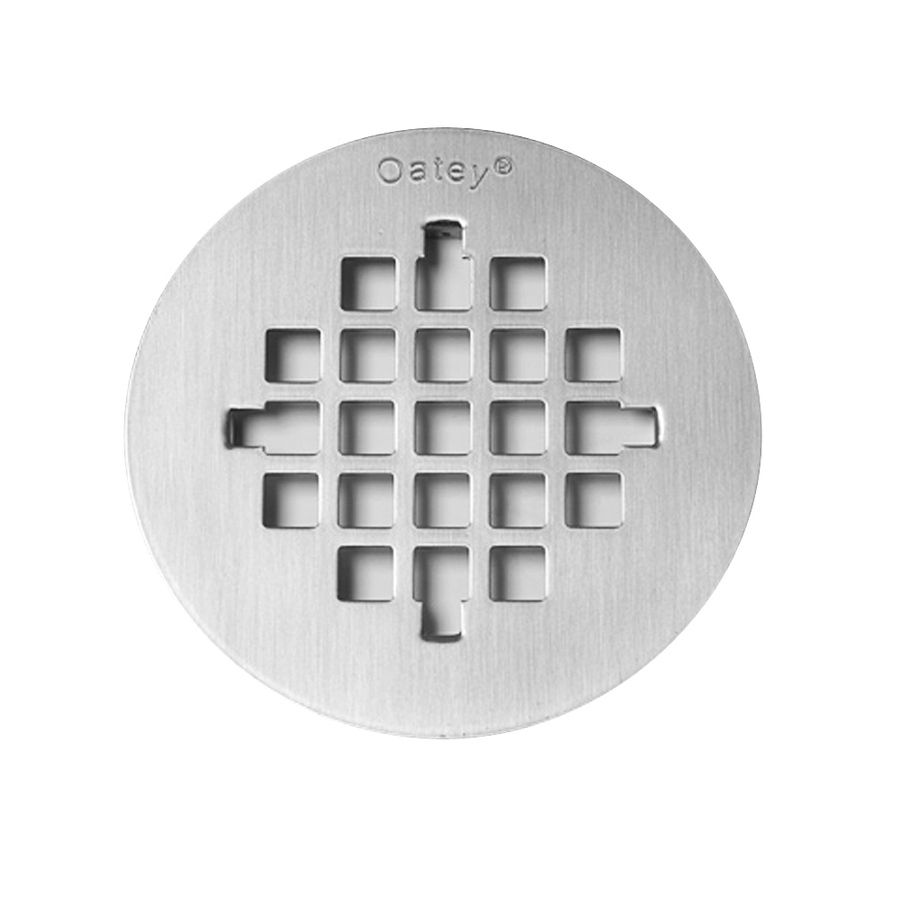 Oatey 4 75 In Square Holes Round Stainless Steel Strainer At Lowes