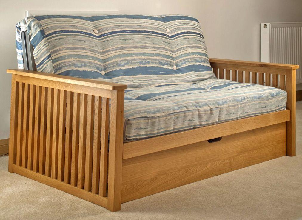 Pangkor W Drawer Sofa Bed In 2019 Sofa Bed Wood Sofa Bed