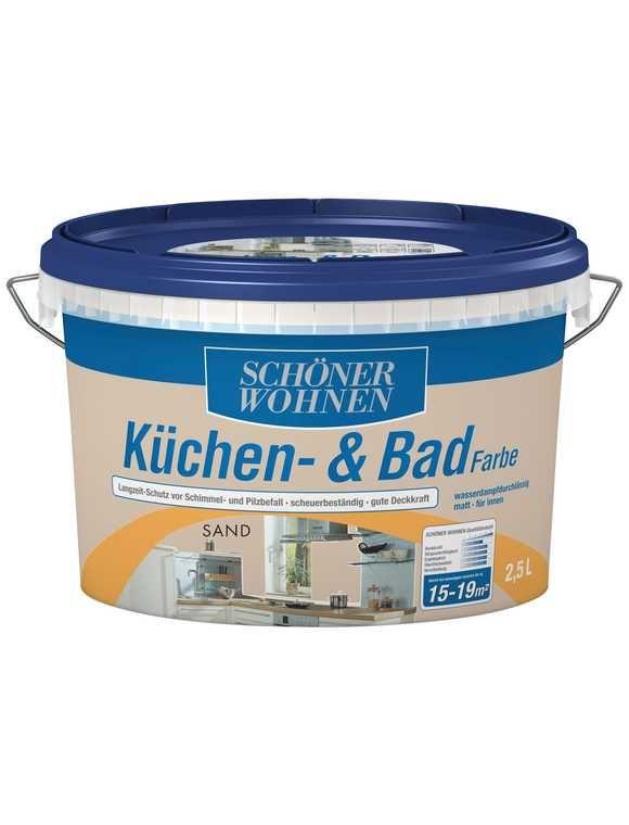 SCHÖNER WOHNEN FARBE Küchen- \ Badfarbe, sand Country Küche - schöner wohnen küche