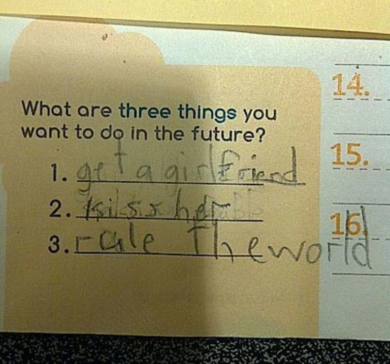New Funny Test Answers  20 funny kids' test answers that were technically kind of correct