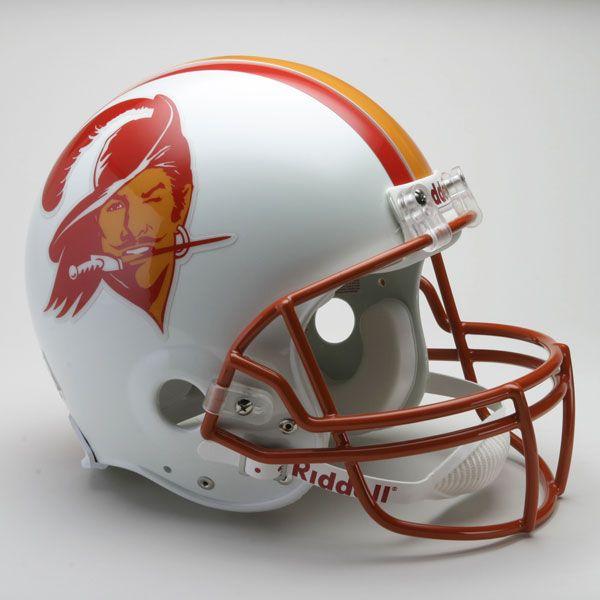 Tampabay Buccaneers Helmet From 1970s To Mid 1990s Football Helmets Nfl Football Helmets Tampa Bay Buccaneers