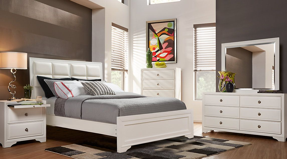Affordable White Queen Bedroom Sets Rooms To Go Furniture