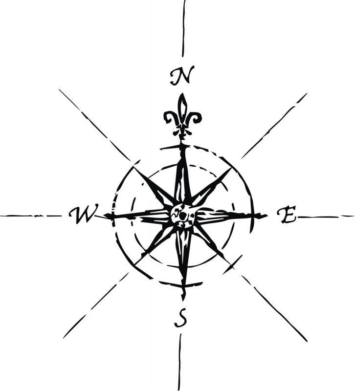 Compass Tattoo Line Drawing : Simple compass tattoos google search tattoo ideas