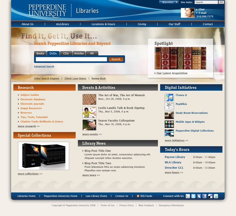 library websites - Google Search | Library Websites | Pinterest ...