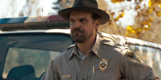 Chief Jim Hopper is awesome!!! | Stranger Things in 2019