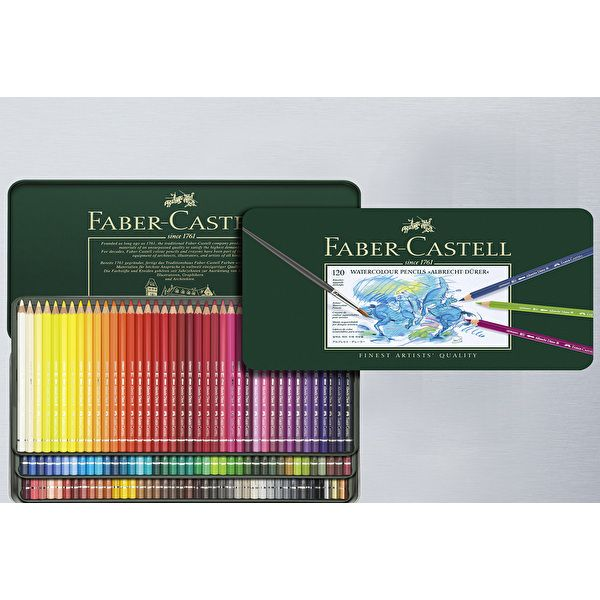 Details About Faber Castell 36 Watercolour Pencil 36 Colors Tin