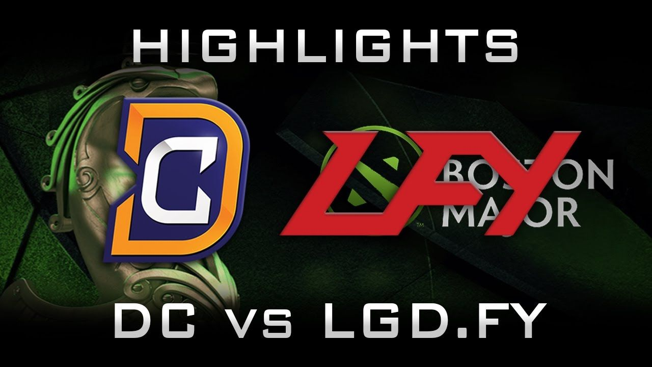DC vs LGD.FY Boston Major 2016 Highlights Dota 2