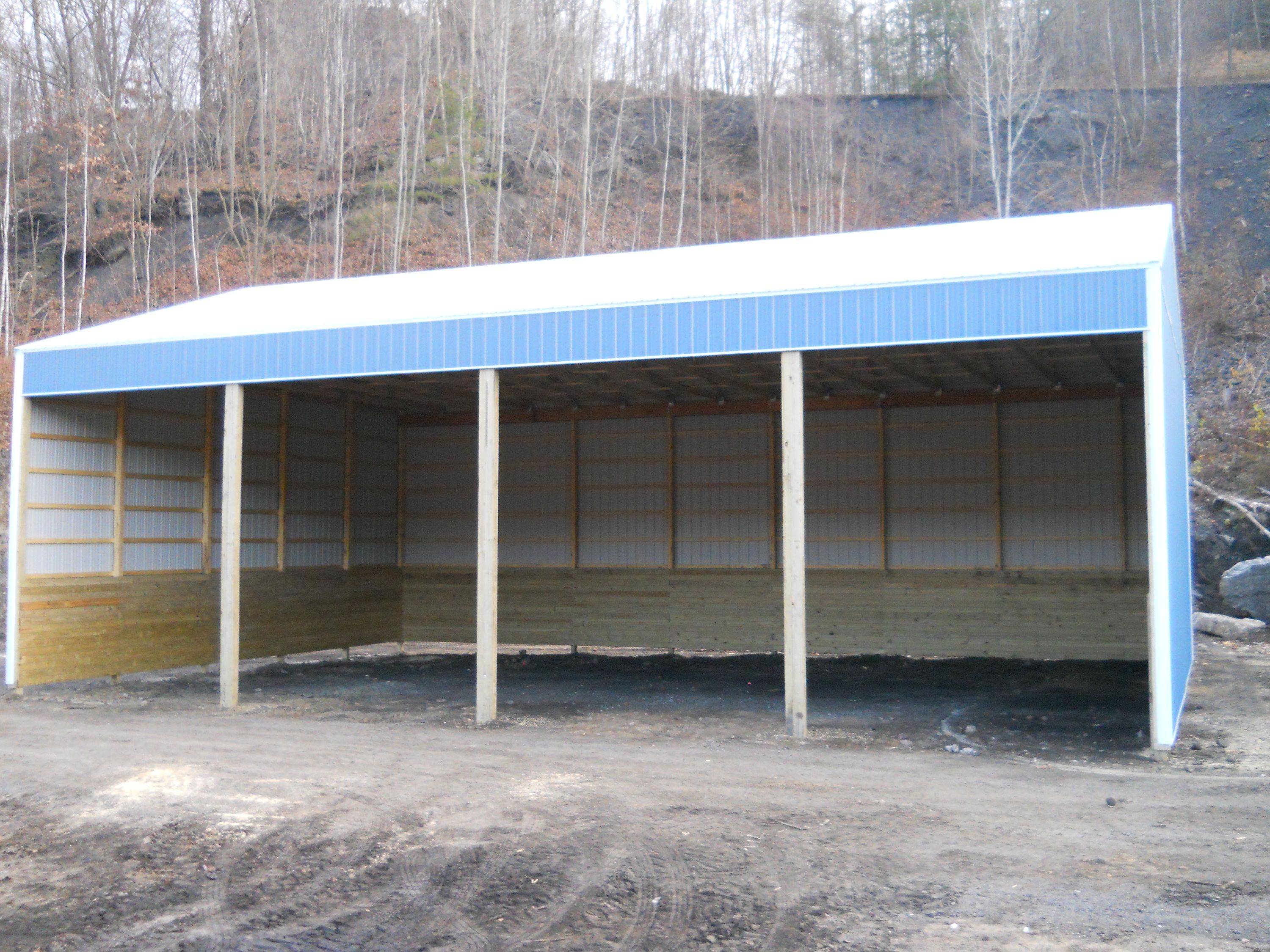 "Building Dimensions: 40' W x 60' L x 18' 4"" H (ID# 270)  Visit: http://pioneerpolebuildings.com/portfolio/project/40-w-x-60-l-x-18-4-h-id-270-total-cost-25345  Like Us on Facebook! www.facebook.com/... Call: 888-448-2505 for any questions!"