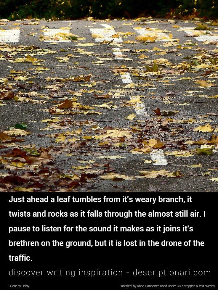 b667ba4190 Autumn Quotes And Descriptions To Inspire Creative Writing ...