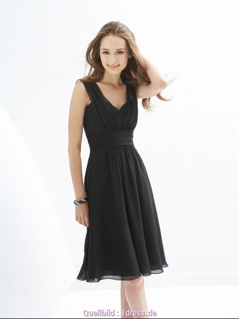 8 Schwarzes Kleid Knielang in 8  Abendkleid, Abschlusskleider