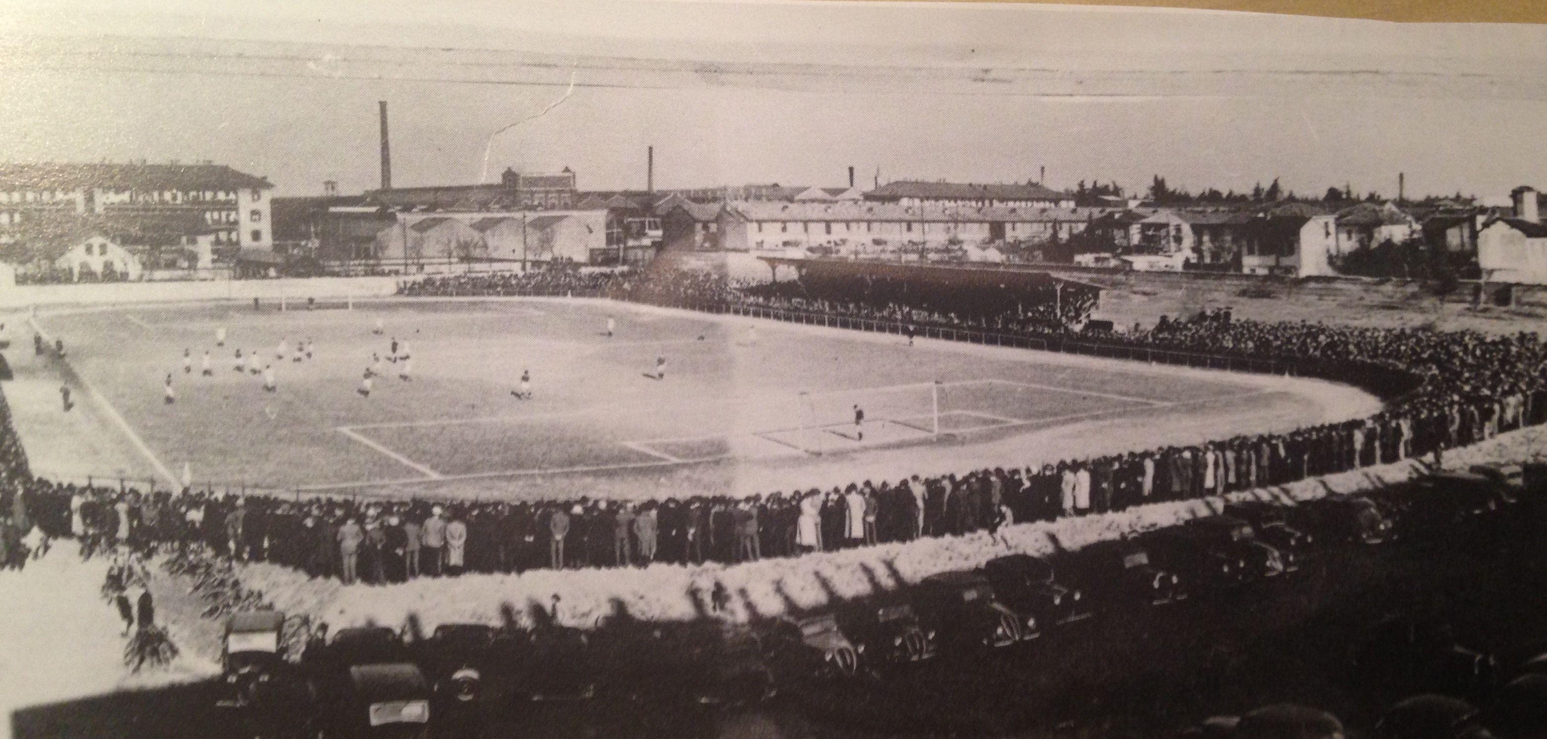 Legnano, Stadio G. Mari, 1930