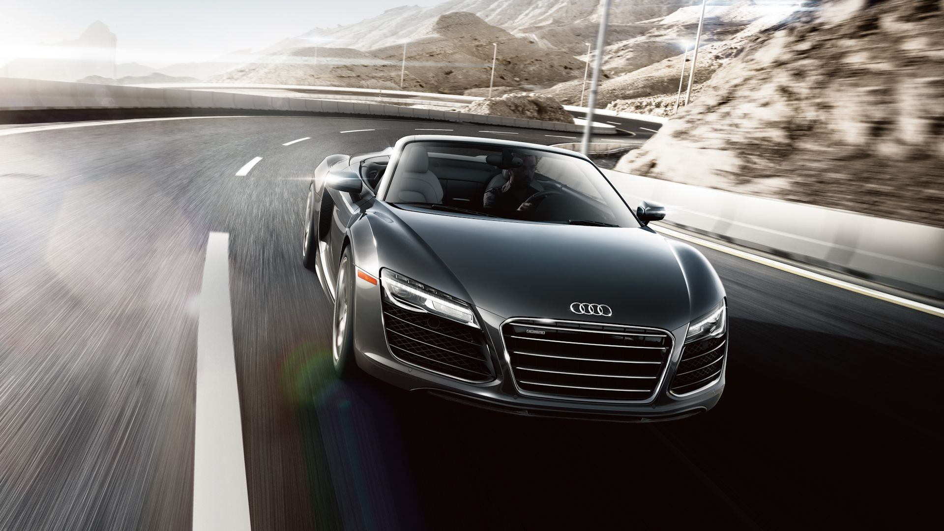 2015 audi r8 v10 spyder wallpaper