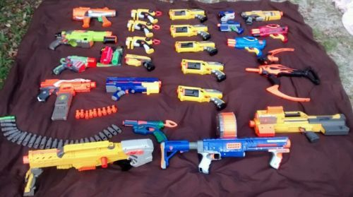Huge 25 Piece Nerf Gun Lot with Big Guns | eBay