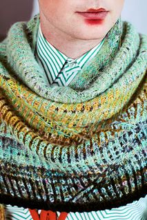 Photo of Swerving Shawl pattern by Stephen West