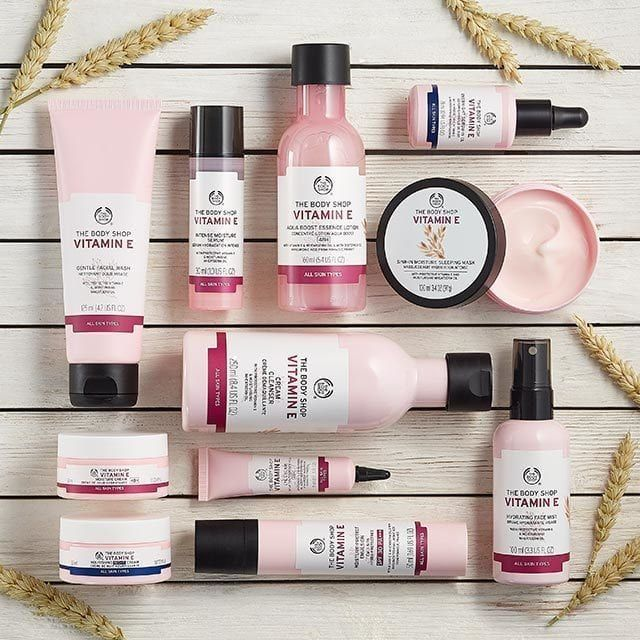 Vitamin E Sink In Moisture Face Mask The Body Shop Beautytipsnatural In 2020 Body Shop Skincare The Body Shop Body Shop At Home