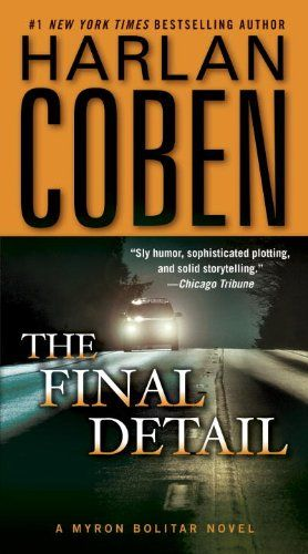 The Final Detail (Myron Bolitar, Book 6) by Harlan Coben http://www.amazon.com/dp/0440246334/ref=cm_sw_r_pi_dp_rY0nvb0Y2VZCH