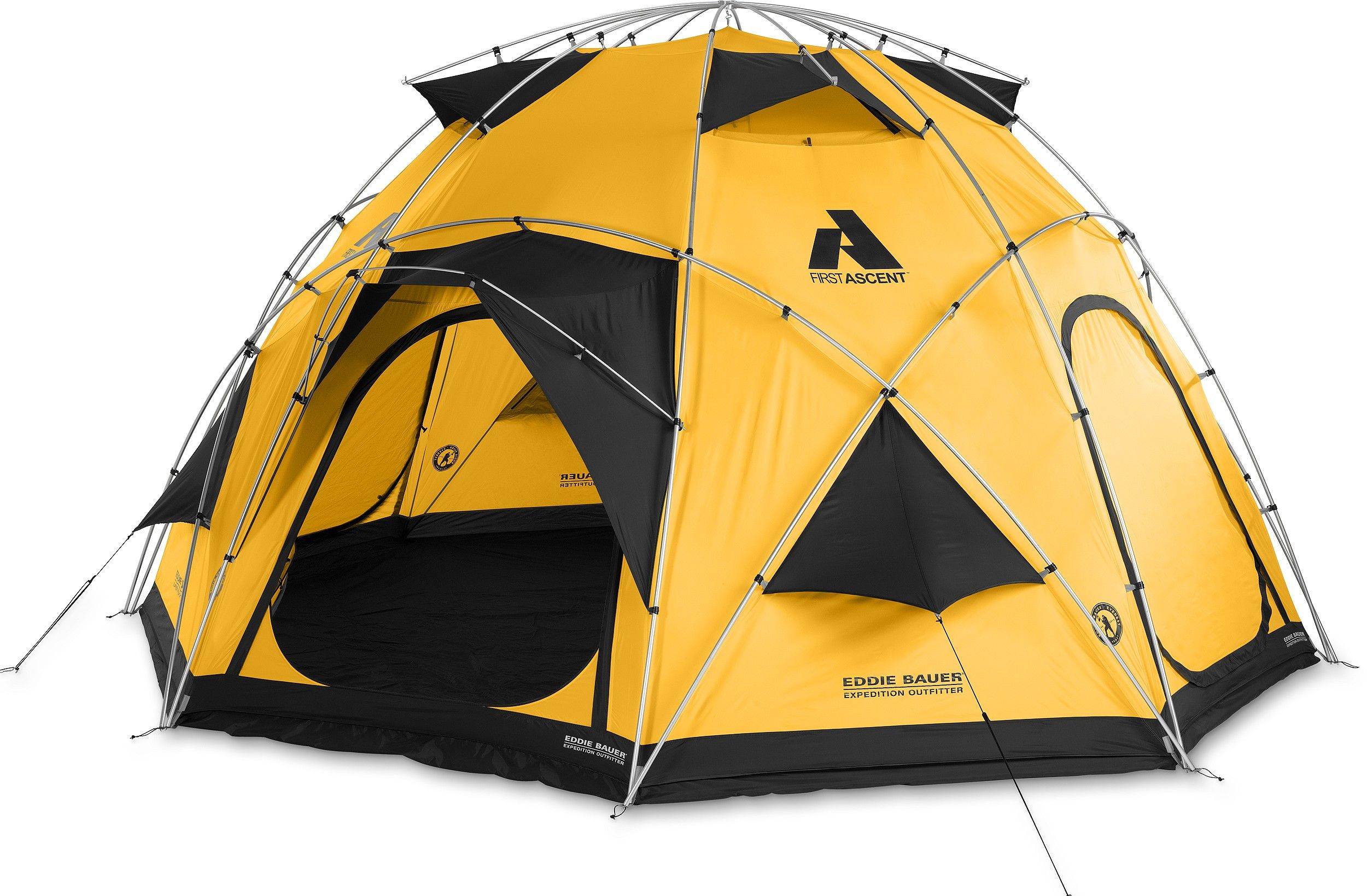 Pantheon Dome Tent | Every expedition needs to have a safe haven - a foundation on which the expedition can depend for support, supply of equipment, food and communication.