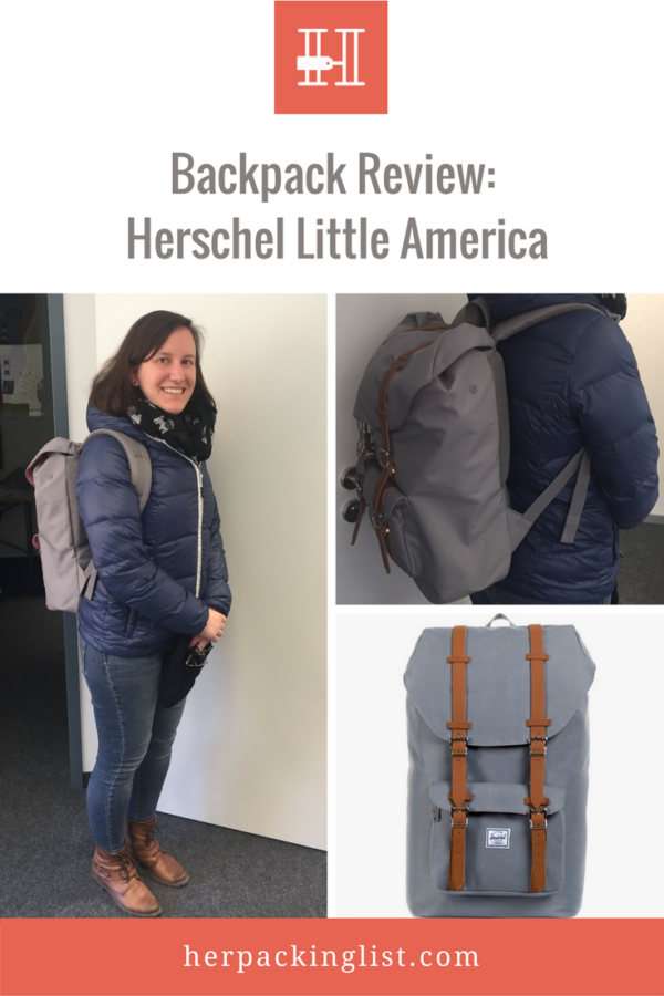 674747c1e286 This 25L backpack can tote your books for school or your gear on your next  holiday! It s the cool and popular Herschel Little America backpack reviewed .