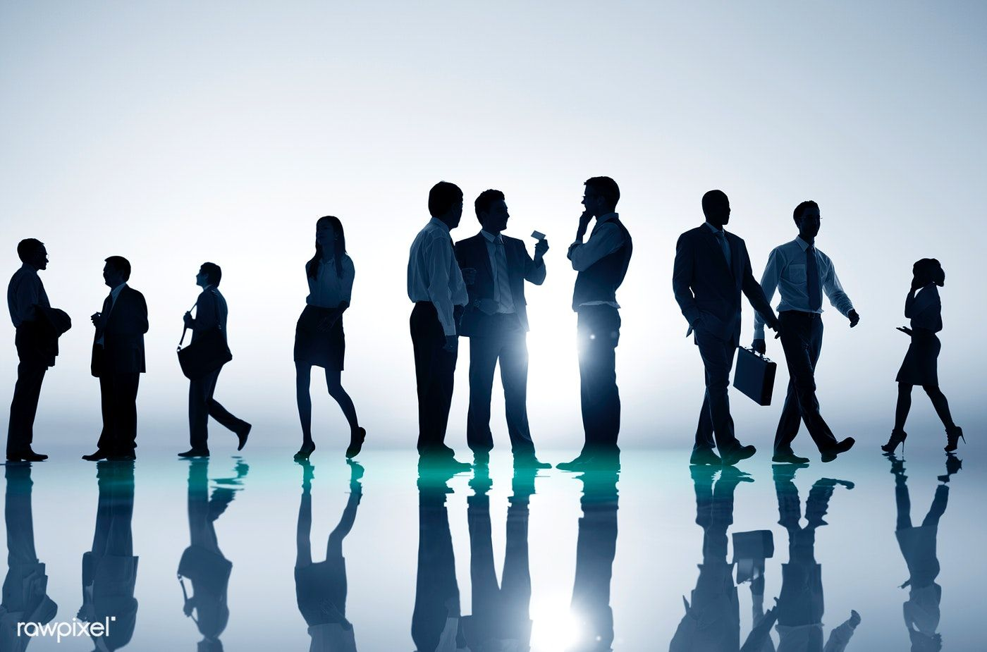 Download Premium Photo Of Business People Talking In Groups 680762
