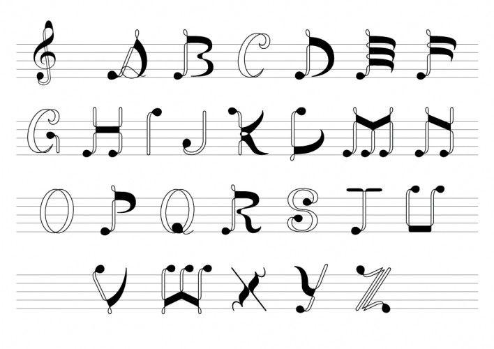 音符フォント五線 もっと見る | Fonts | Writing fonts